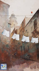 THE GREAT LAUNDRY by sanderus
