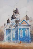 An orthodox church in Druskienniki