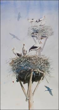 The Village of Storks