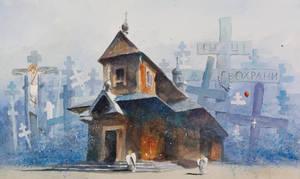 The Monastery in Grabarka by sanderus