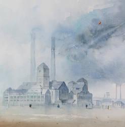 The Power Plant Szombierki by sanderus