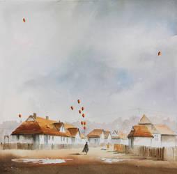 The Dreams Seller in Giszowiec by sanderus