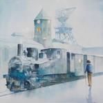 The Balkan Train on the Carmer Shaft