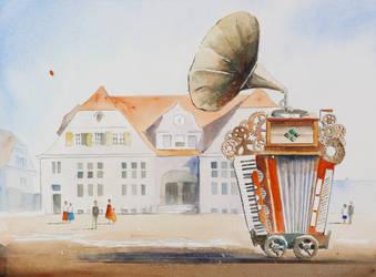 The Noise Maiking Machine by sanderus
