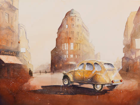 The Cityscape with Citroen