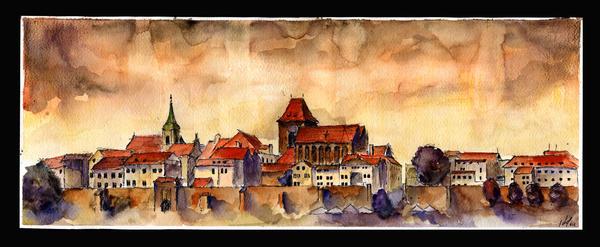 View on Torun by sanderus