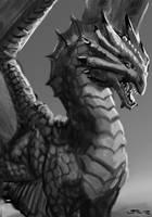 Bronze Dragon by zelldweller