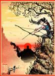Tomb Raider 2013 (Ukiyo-e inspired)