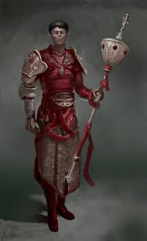 Custodio Eclessiae (Character design, Blasphemous)
