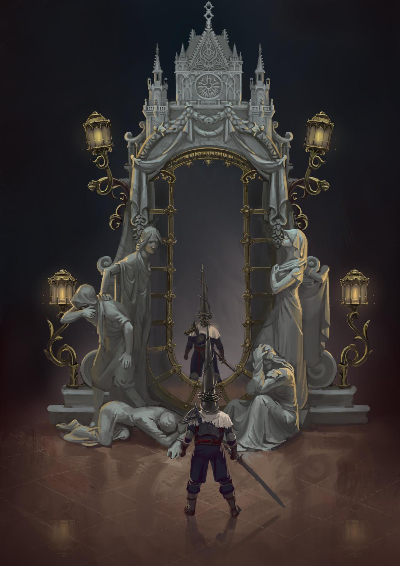 Blasphemous DLC concept art.