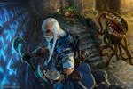 Pathfinder Iconics Ezren and Fumbus vs Mimic