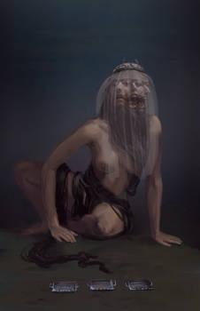 Altasgracias concept art for Blasphemous