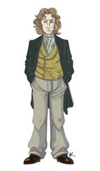 The Eighth Doctor by celeryjacket