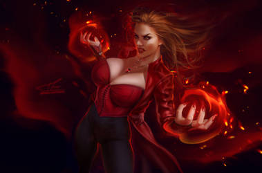 Scarlet Witch by MrsFlake