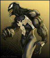 Venom a PsychOz collaboration by ChrisOzFulton