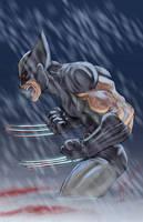 Wolverine Uncanny X-Force by ChrisOzFulton