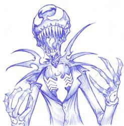Venom Skellington by ChrisOzFulton