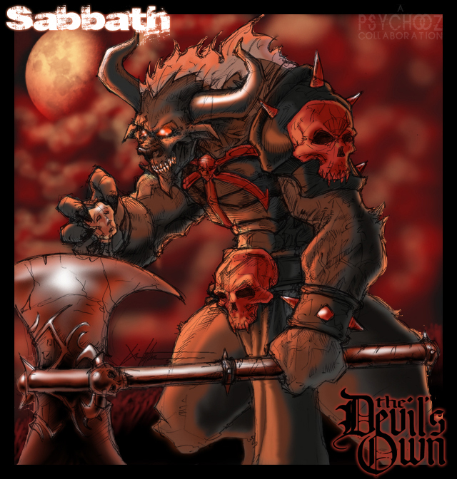 Sabbath collab by ChrisOzFulton