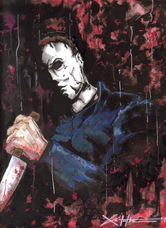 Michael Myers by ChrisOzFulton
