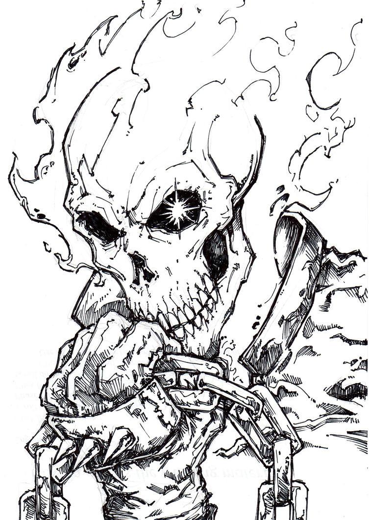 Ghost Rider 4 by ChrisOzFulton on DeviantArt