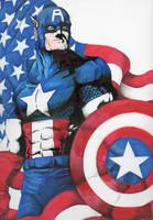 Captain America by ChrisOzFulton