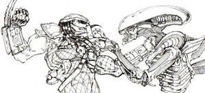 Alien vs. Predator AVP by ChrisOzFulton