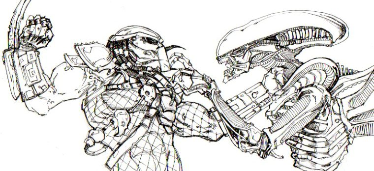 Alien vs predator avp by chrisozfulton