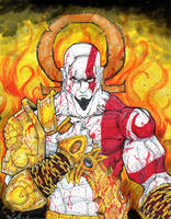 God of War Kratos by ChrisOzFulton