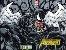 Venom sketch cover by ChrisOzFulton