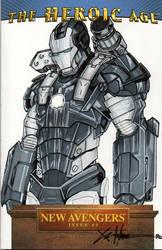 War Machine New Avengers SC by ChrisOzFulton