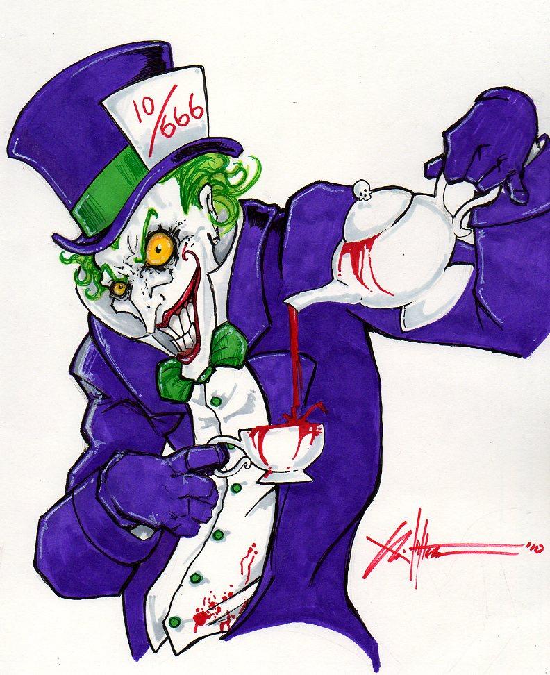 Képek a képregény világából - Page 2 Joker_as_the_Mad_Hatter_by_COVENS_OZ