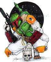 Boba Fett Star Wars by ChrisOzFulton