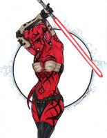 Darth Talon Star Wars by ChrisOzFulton