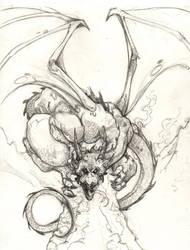 Dragon by ChrisOzFulton