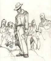 Walking Dead by ChrisOzFulton