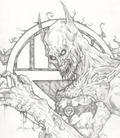 Batman Black Lantern by ChrisOzFulton