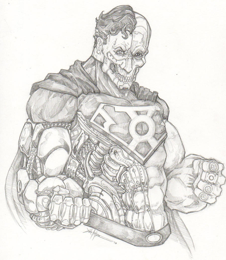 Cyborg Superman By ChrisOzFulton On DeviantArt