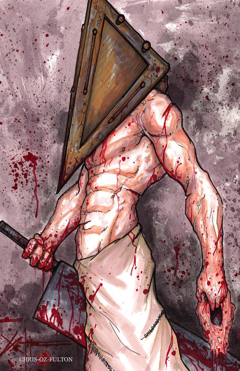 Silent Hill Pyramid Head by ChrisOzFulton