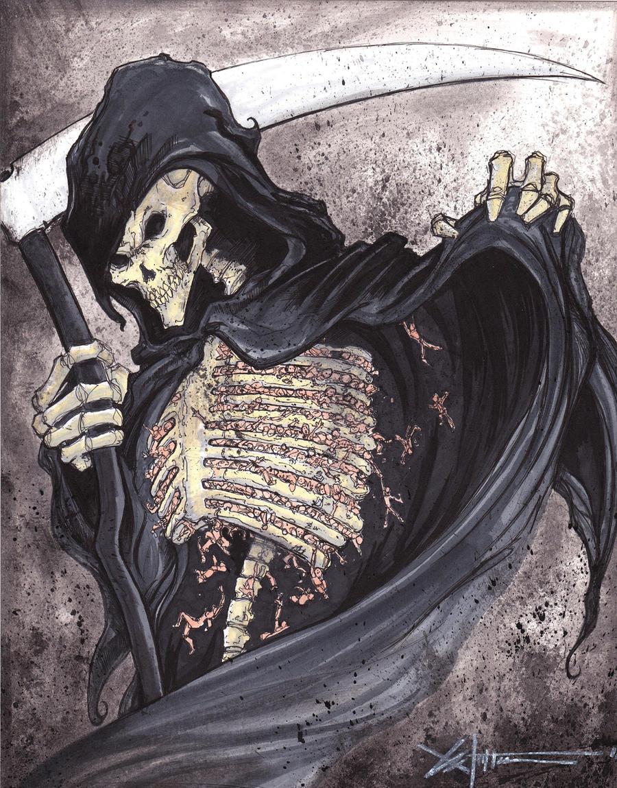 The Grim Reaper by ChrisOzFulton