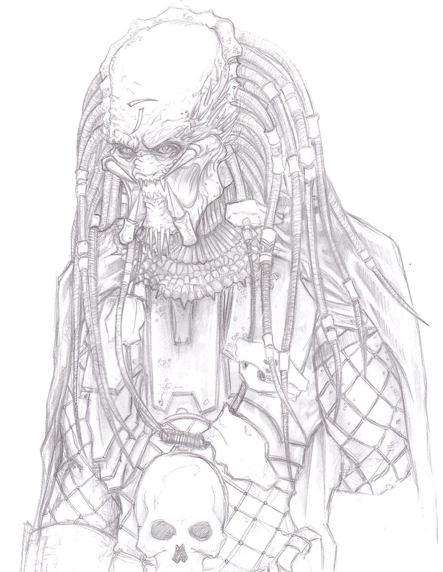 Elder Predator by ChrisOzFulton