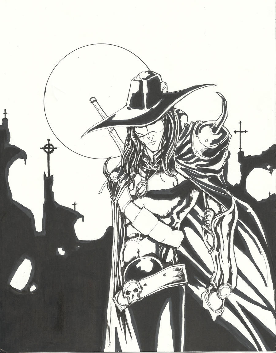 Vampire Hunter D by ChrisOzFulton