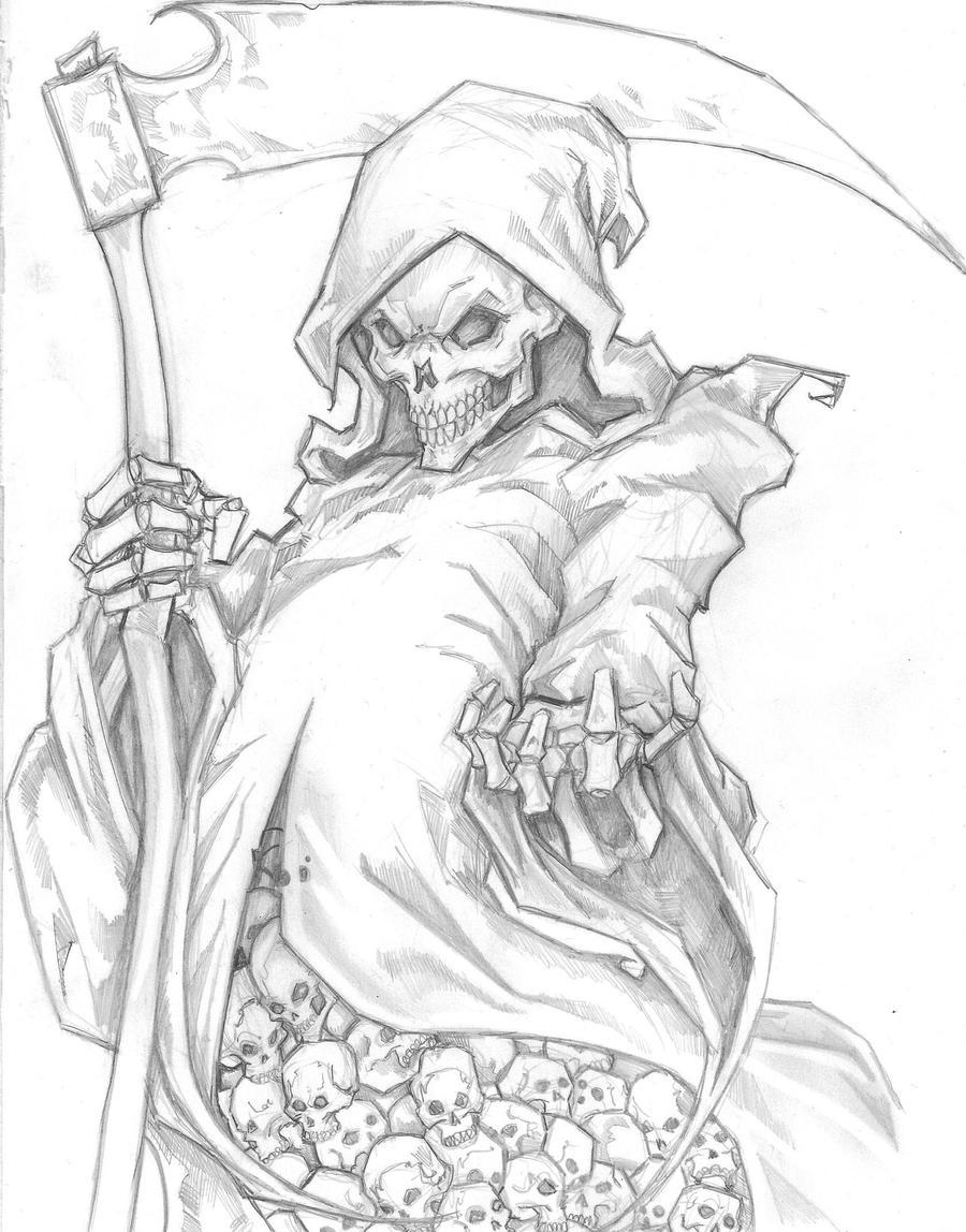 Uncategorized Drawing Of Grim Reaper grim reaper by chrisozfulton on deviantart chrisozfulton