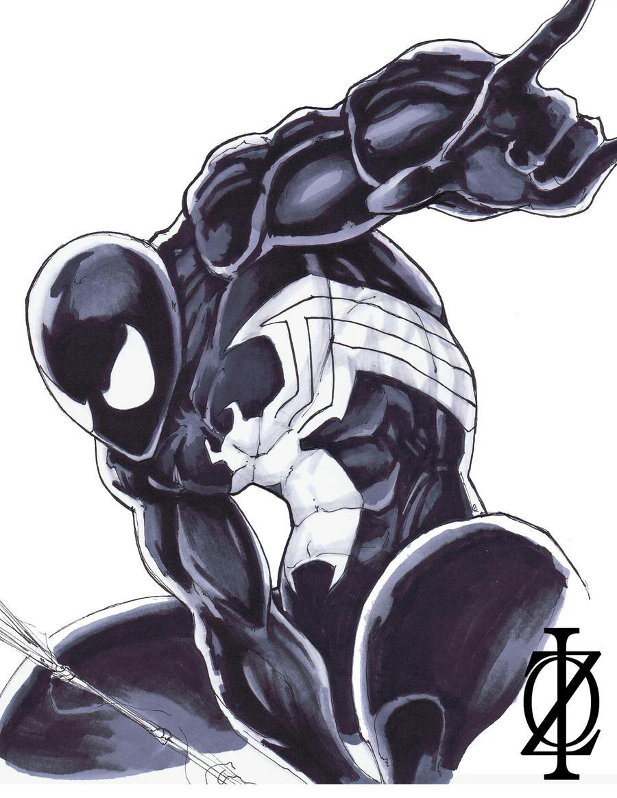 Spider-man Symbiote by ChrisOzFulton on DeviantArt