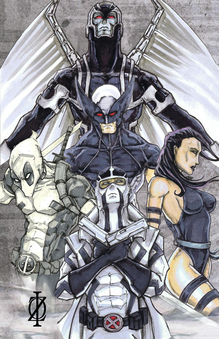 Uncanny X-Force by ChrisOzFulton