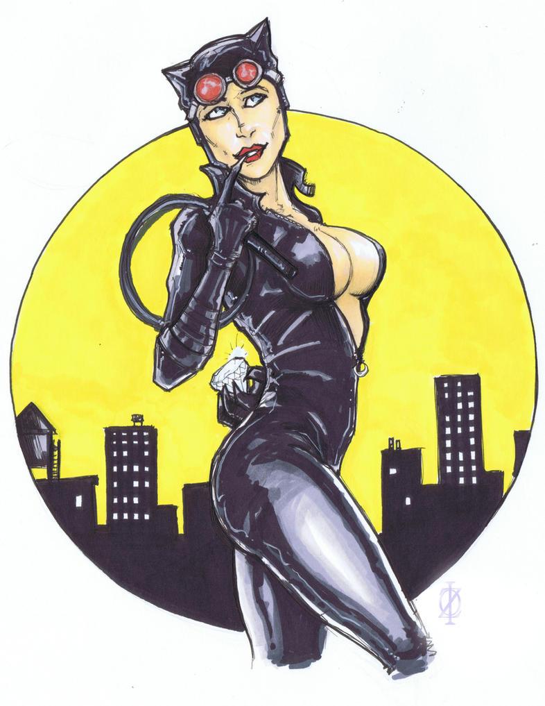 Catwoman by ChrisOzFulton