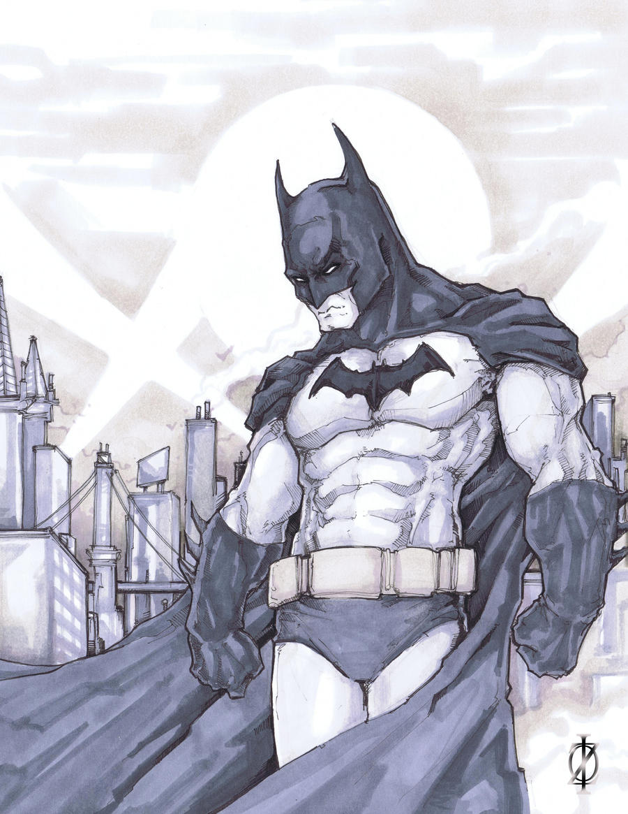Batman by ChrisOzFulton
