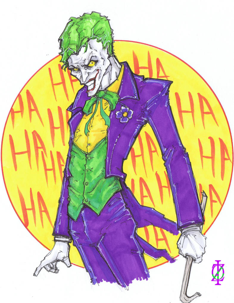 The Joker by ChrisOzFulton