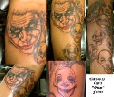 Joker Tattoo by ChrisOzFulton