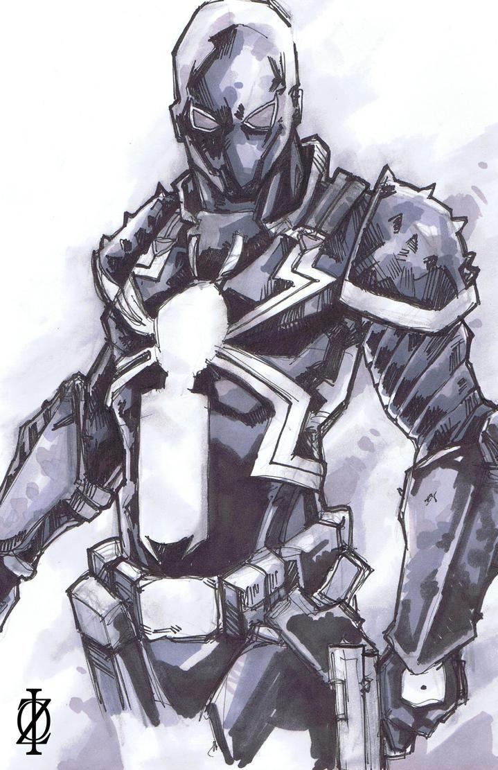 agent venom coloring pages - venom flash thompson by chrisozfulton on deviantart