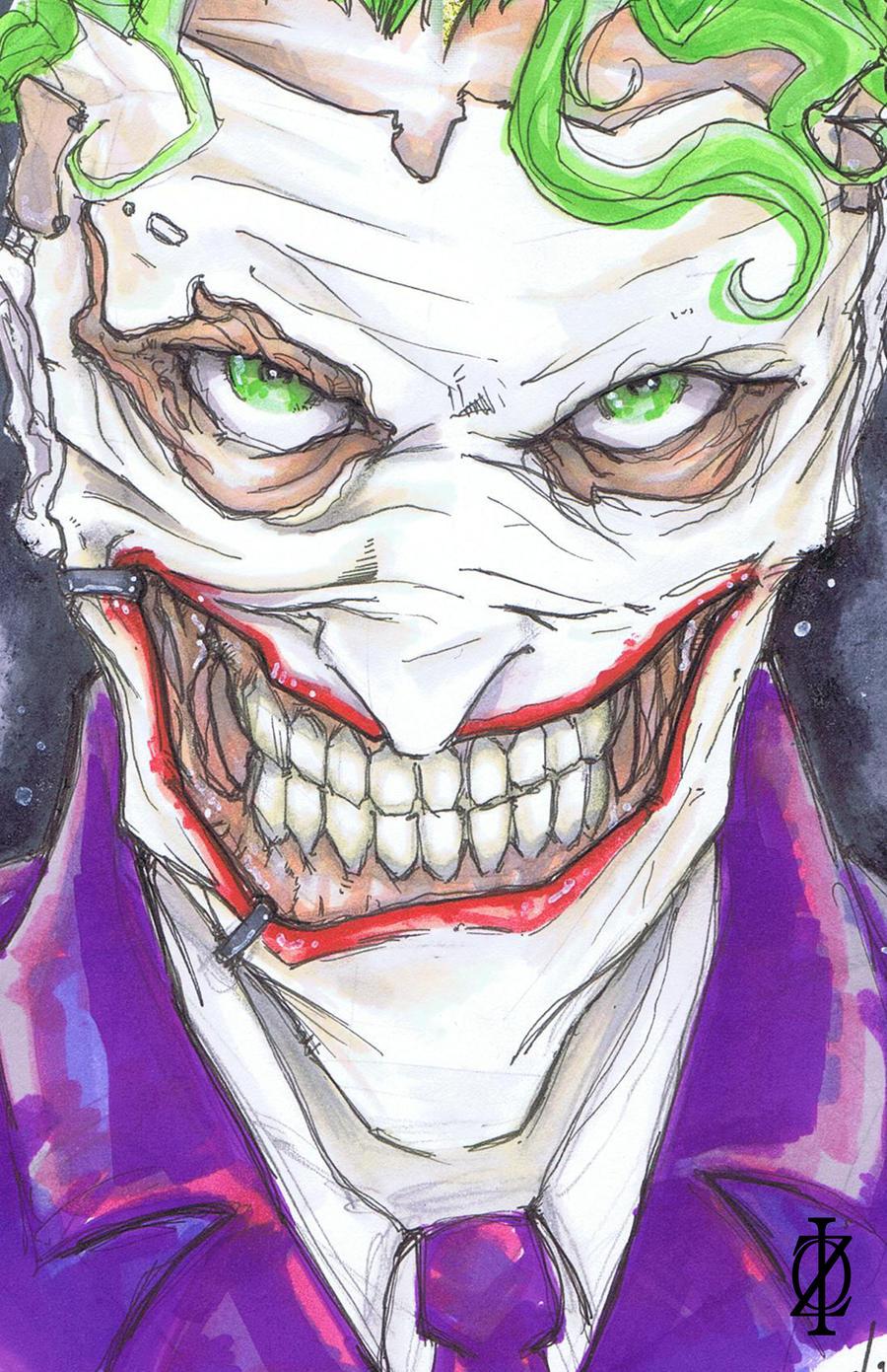 Joker New Face by ChrisOzFulton